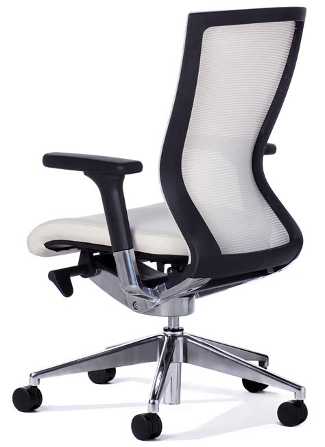 Balance Desk Chair by Balance White Mesh Back Executive Chair Office Stock