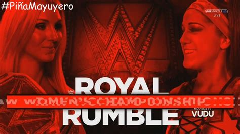 Match Card Template Tag Team by Royal Rumble 2017 Match Card