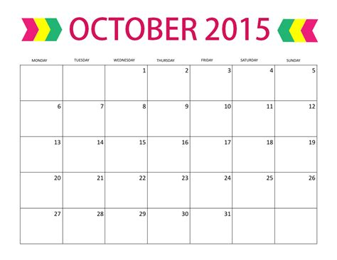 october 2015 calendar word 2017 printable calendar
