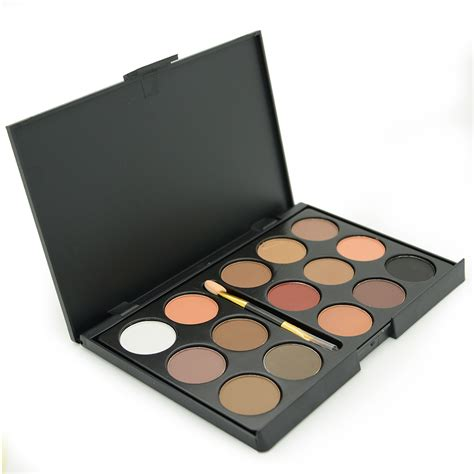 Eyeshadow Sariayu Matte brand new 15 earth colors matte eyeshadow palette smoky cosmetics makeup eye shadow