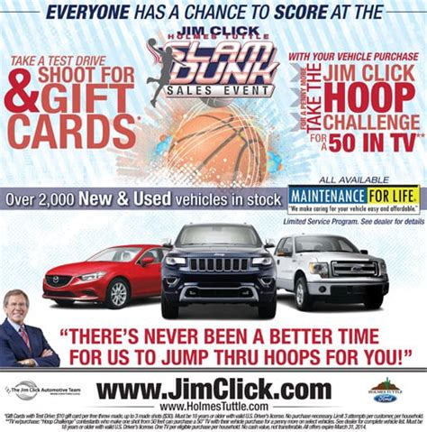 Lincoln Test Drive Gift Card - jim click ford lincoln east new ford lincoln specials new ford and used cars