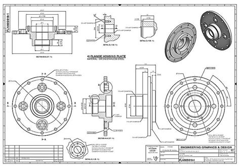 pattern making in mechanical engineering pdf mechanical box drawing google search blueprint