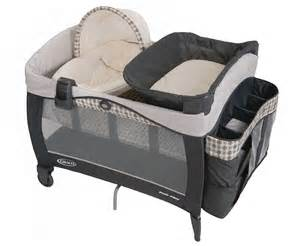 Changing Table For Pack N Play Graco Newborn Napper Vance Elite Travel Bassinet Crib Playard Pack Play Pen New Ebay