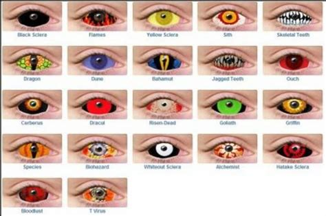 cool anime eye contacts the gallery for gt cool contact lenses
