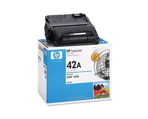 Toner Q5942a hp q5942a toner cartridge made by hp 10000 pages overnight ink