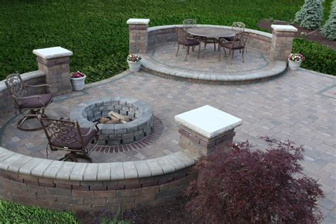 paver patio designs with pit pit design ideas
