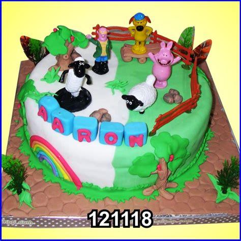 shaun the sheep aaron kue ulang tahun bandung