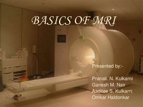 mri the basics books basics of mri