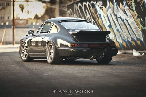 magnus walker porsche stanceworks features new magnus walker 964 build 52 outlaw