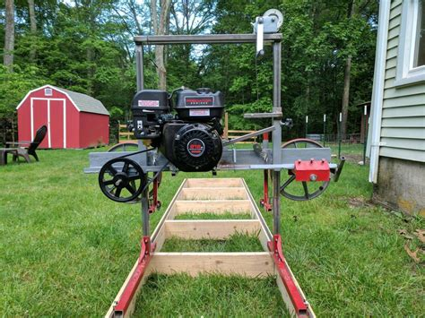 backyard sawmill how i built a sawmill in the backyard make