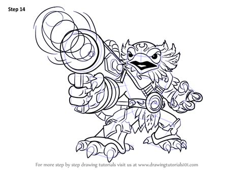 skylanders coloring pages jet vac learn how to draw jet vac from skylanders skylanders