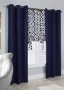 Navy Blue Curtains Ikea Navy Blue And Brown Curtains Sweet Jojo Designs Stripe Collection Navy Blue And Gray Window