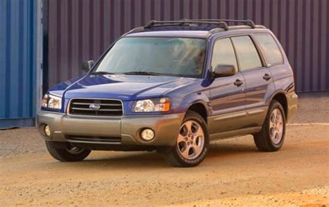 forester subaru 2003 2003 subaru forester information and photos zombiedrive