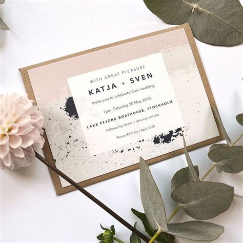 Cool Wedding Invitations by 25 Best Ideas About Cool Wedding Invitations On