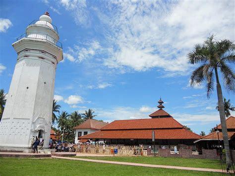 masjid agung banten wikipedia bahasa indonesia