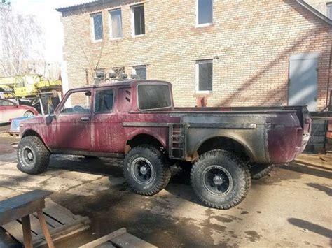 lada penta ruski monstrum lada niva 6x6 umesto mercedes g klase
