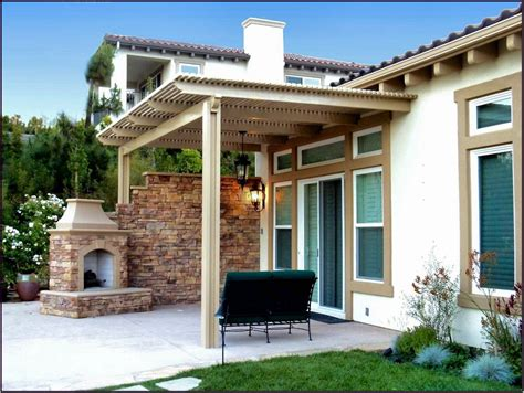 decor brick wall design ideas with covered patio