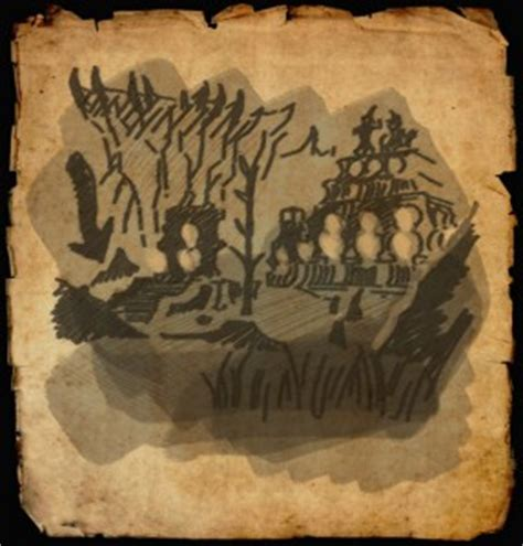 coldharbour treasure map eso coldharbour treasure map locations guide