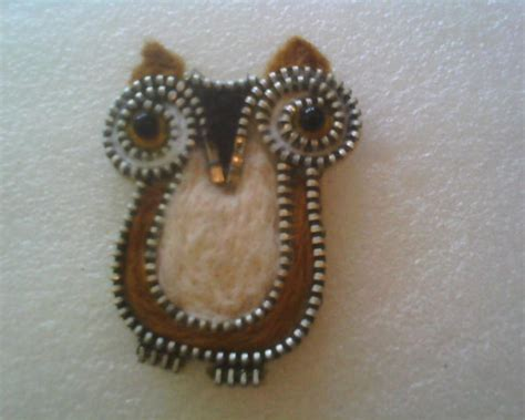 Top Zipper Owl Berkualitas 116 best images about zipper on brooches creative ideas and zippers