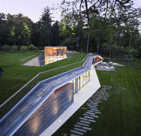 Pavillon Pool by Pool Pavilion Gluck Archdaily
