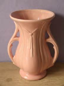 vintage 1940 s mccoy pottery vase handle by