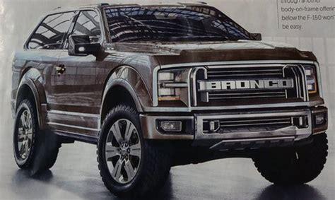 New Ford Bronco Price by Ford Bronco 2018 Price Prediction Car News