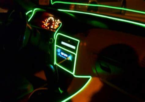 neon light el wire 10 meters 12v car decoration el wire neon light