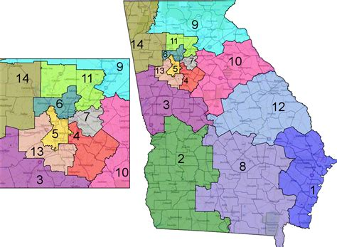 georgia state house districts georgia congressional district map bnhspine com