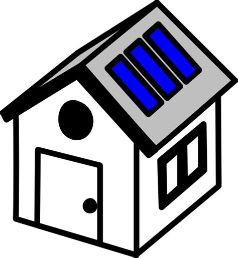 solar panels clipart 3d house solar panels clip art at clker com vector clip