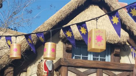 tangled bathrooms a day at disney s magic kingdom park highlights along