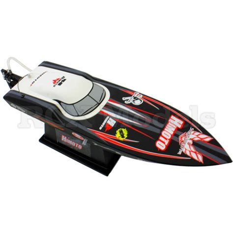 rc boats nitro vs electric himoto rc speed boat 25mph rtr 17 quot