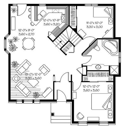 thehousedesigners small house plans 25 best ideas about small home plans on pinterest small
