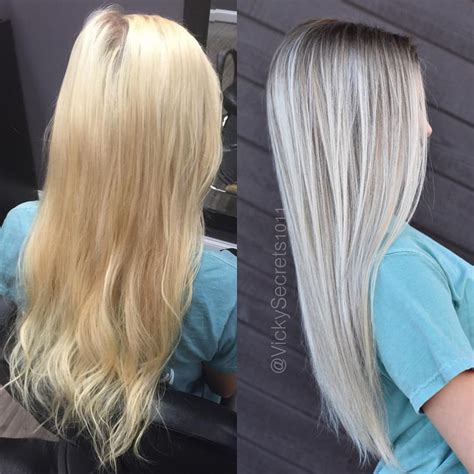 toner for bleached blonde hair 109 likes 3 comments victoria sears victoria sears