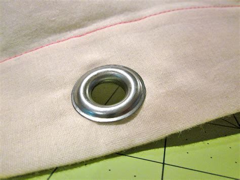 how to put grommets in curtains how to install metal grommets in curtains curtain