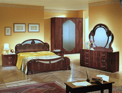 bedroom sets italian melania italian classic 5pc bedroom set