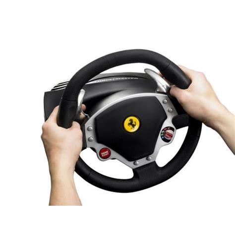 thrustmaster f430 feedback racing wheel pc