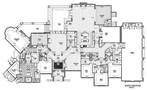 floor plans for luxury homes quartz mountain residence by phillips luxury homes