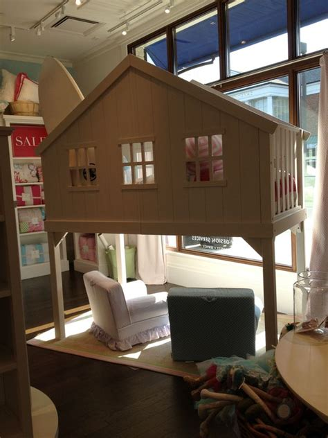 Used Pottery Barn Bunk Beds White Trees Loft Beds And Tree Houses On Pinterest