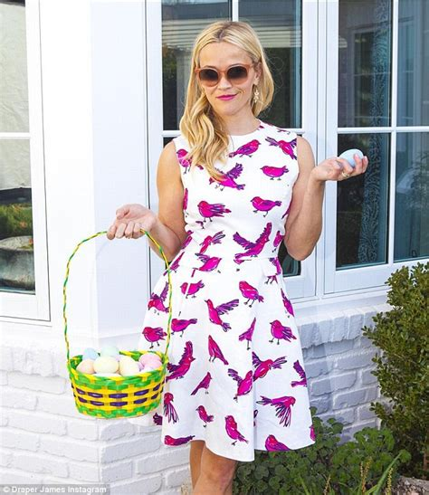 Egg Themed Dresses From Browns For Easter by Reese Witherspoon And Gwen Stefani Join Taking To