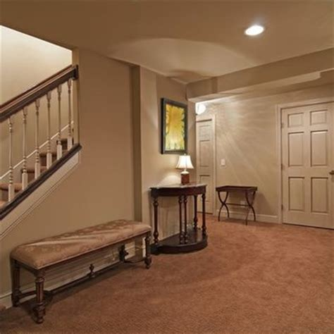 traditional basement small basement remodeling ideas