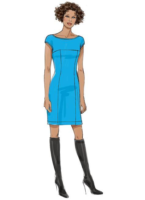 Dress Vogue vogue patterns 9196 misses princess seam dress with yokes