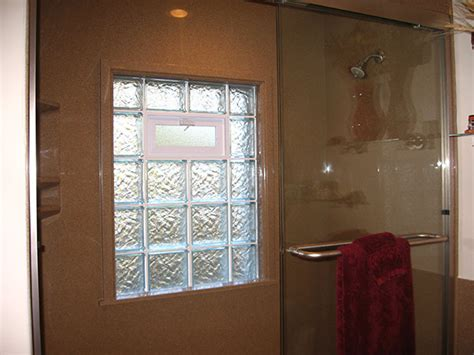 bathroom window glass block glass block windows for the bathroom and shower in st louis