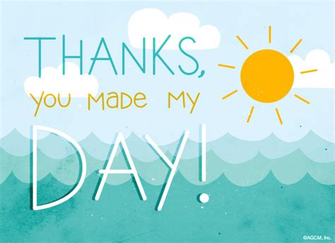 free ecard day greetings day maker anytime thank you ecard american greetings