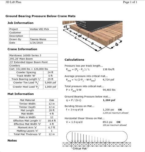 Crane Mat Calculator verticalresponse
