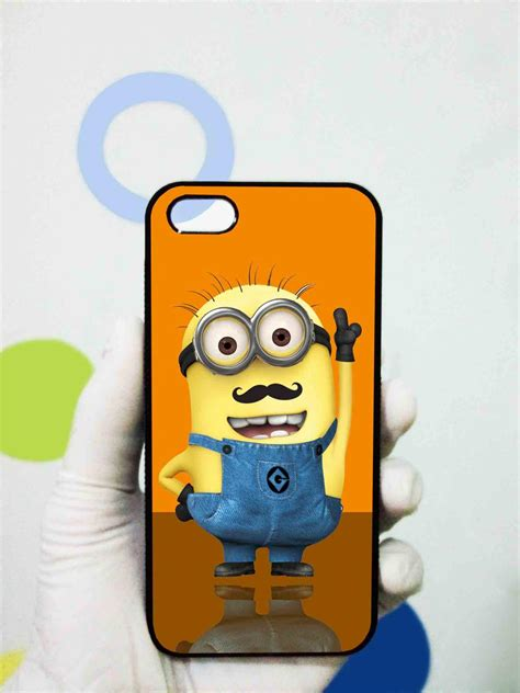 Iphone 5 Minion despicable minions mustache iphone 5 on luulla