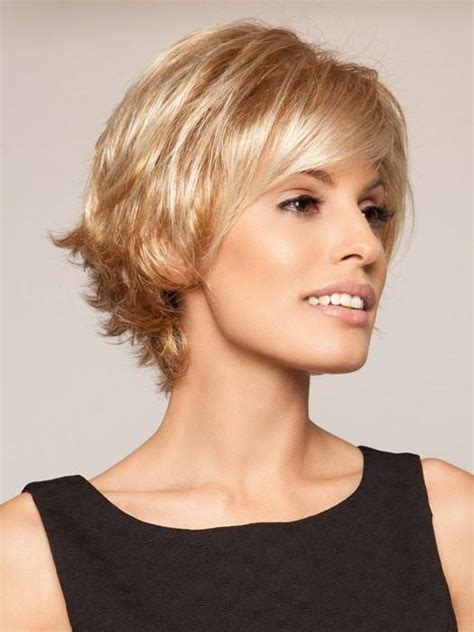 very short feathered hair cuts carte blanche by gabor lace front best seller wigs