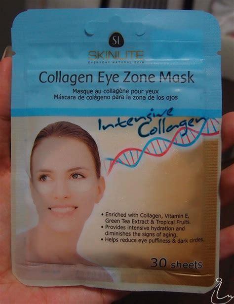 Collagen Eye Zone Mask the swanple review skinlite collagen eye zone mask