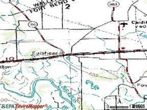 map of fulshear fulshear tx 77406 77441 profile population