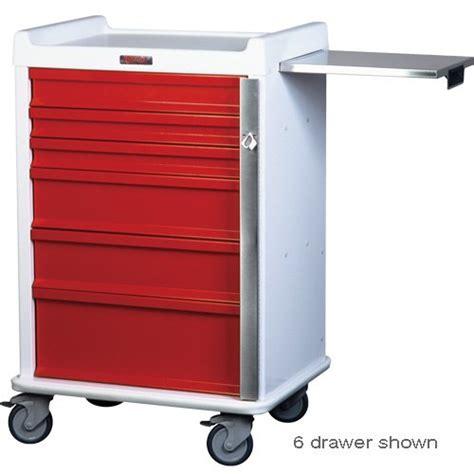 7 Drawer Cart by Mri Breakaway Locking 7 Drawer Cart