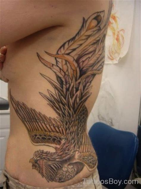 phoenix tattoo ribs phoenix tattoos tattoo designs tattoo pictures page 17